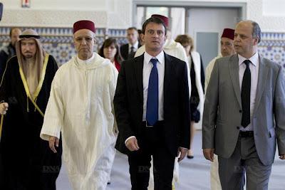 Manuel Valls Inaugurates Stras_ mosque