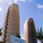 パイナップル・ビル(ハイテク遮光建築) Abu Dhabi, U.A.E.