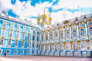 エカテリーナ宮殿 Sankt-Peterburg, Russia